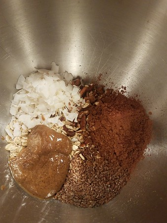 Almond Cocoa Energy Balls