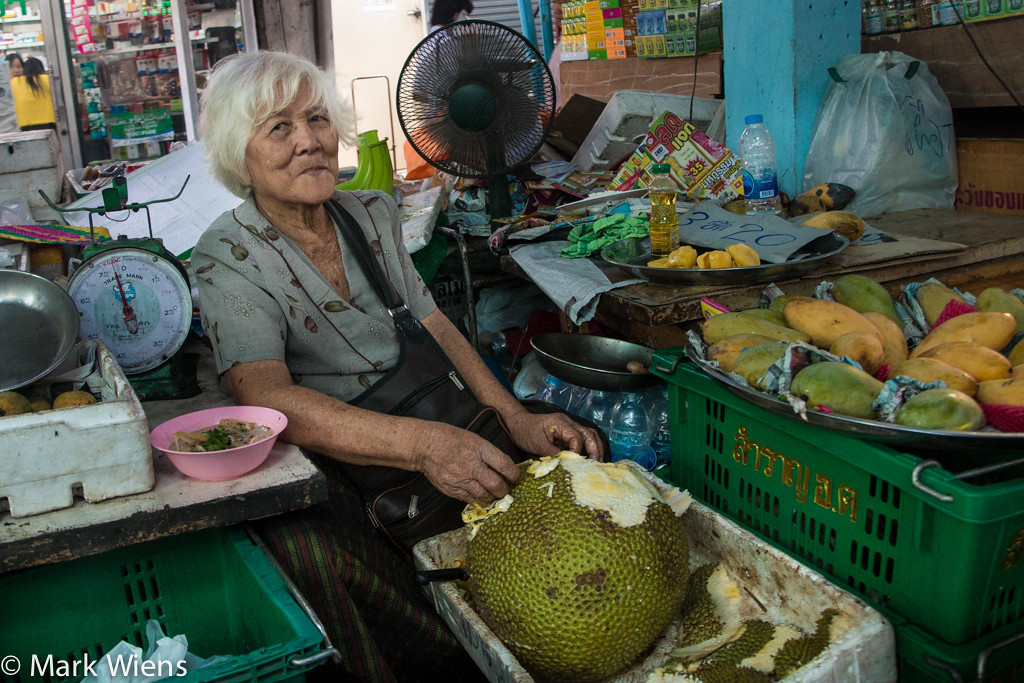 Jackfruit vendor