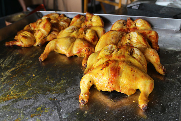 Southern thai grilled chicken