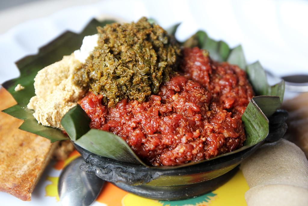 Ethiopian kitfo