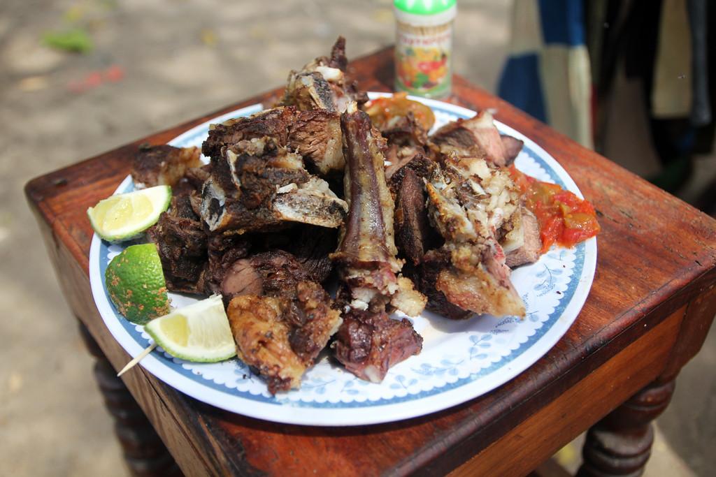 Nyama choma in Tanzania