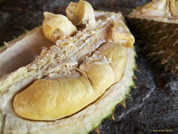 How to eat durian