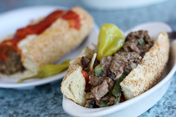 Cheese steak is another great option