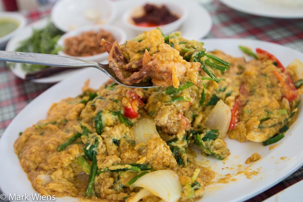 Thai seafood in Samut Prakan
