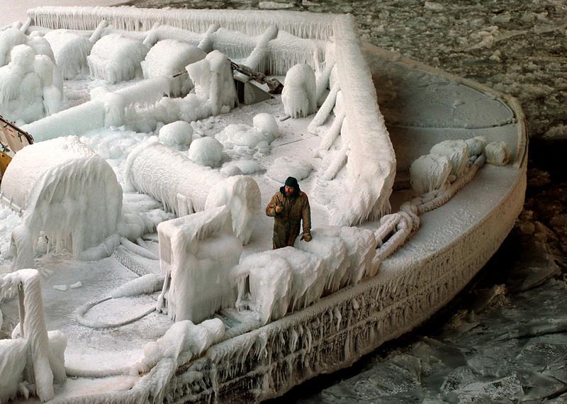 Ice Barge