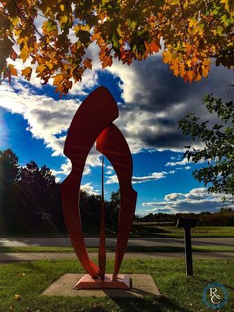 Fall Sculpture