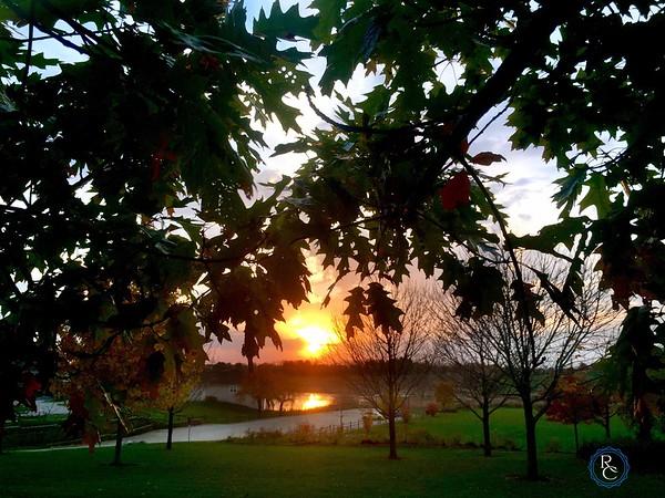 Spella Park Sunset