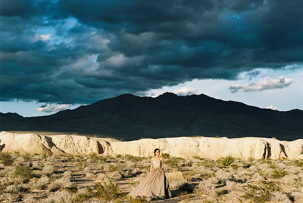 Las Vegas Desert Wedding Inspiration | The Potted Pansy | Kristen Kay Photography-71