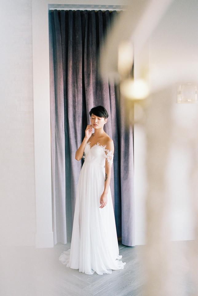 Grey Pearl Bridal Shoot | Kristen Kay Photography-20
