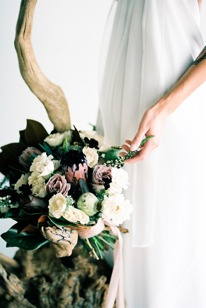 Grey Pearl Bridal Shoot | Kristen Kay Photography-27