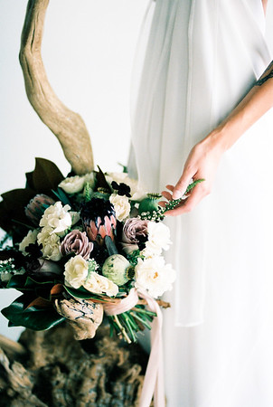 Grey Pearl Bridal Shoot | Kristen Kay Photography-27