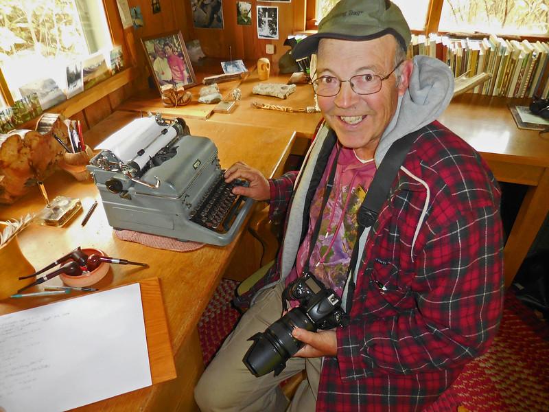 Sigrud Olson's Writing Shack