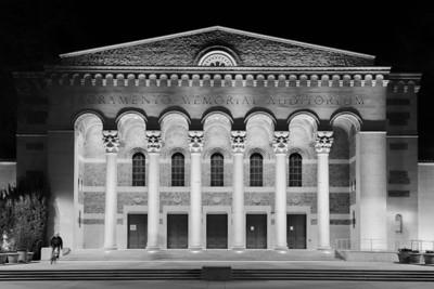 Biking the Memorial Auditorium