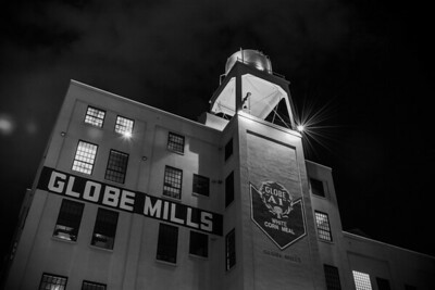 Globe Mills by Night