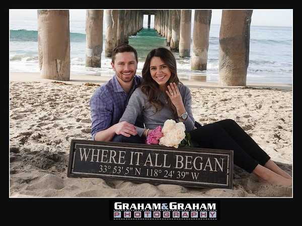 The couple met in Manhattan Beach