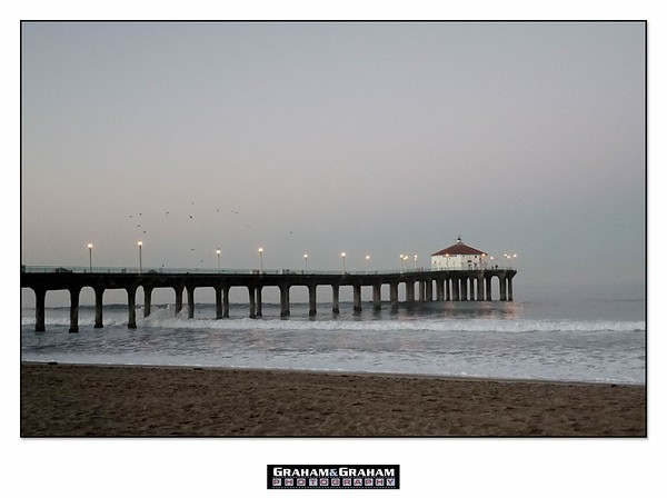 Manhattan Beach Pier and Roundhouse