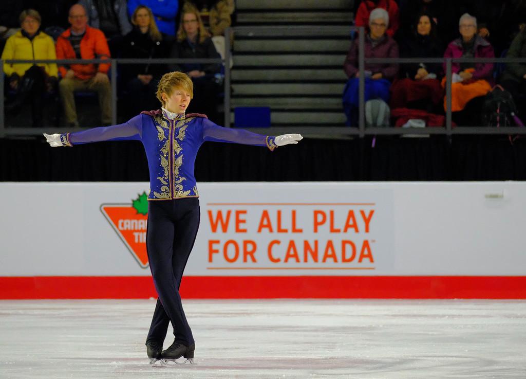 Kevin Reynolds - 2018 Canadian Tire National Skating Championships