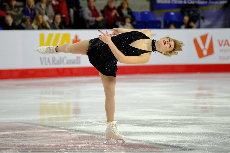 Larkyn Austman - 2018 Canadian Tire National Skating Championships