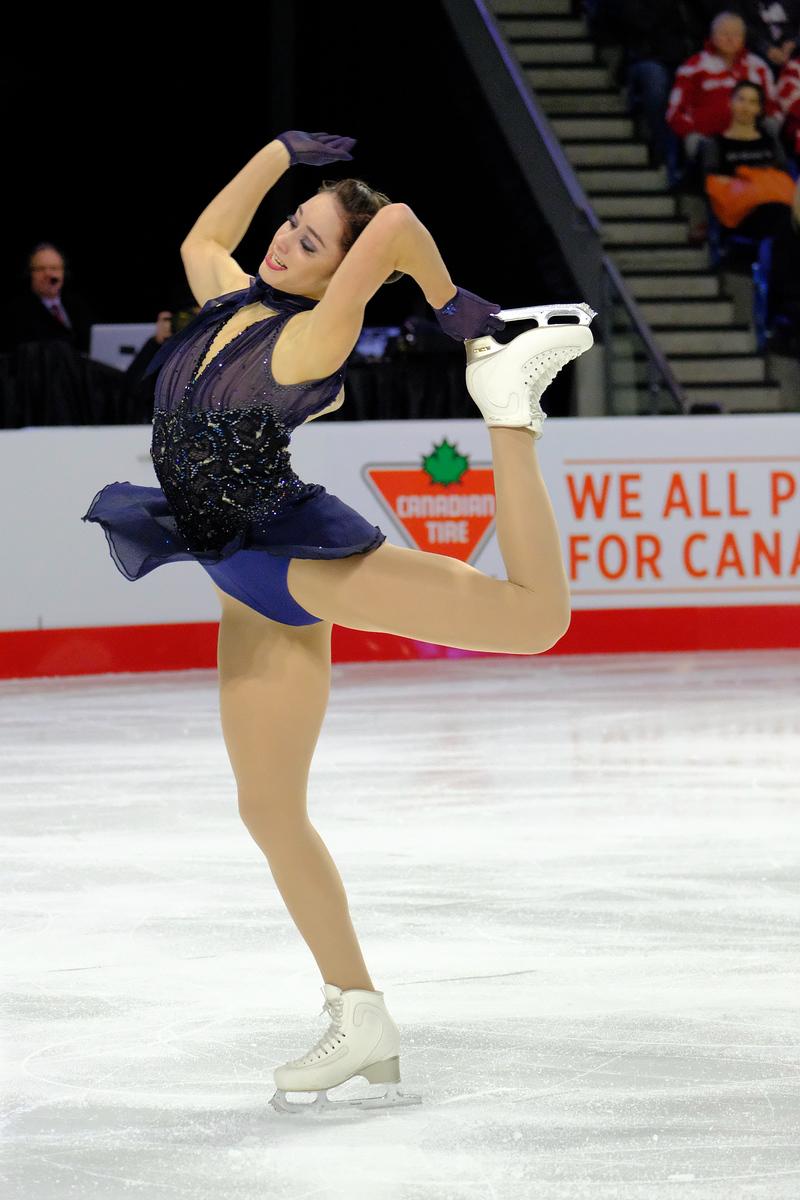 Kaetlyn Osmond - 2018 Canadian Tire National Skating Championships