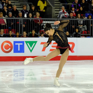 Gabrielle Daleman - 2018 Canadian Tire National Skating Championships