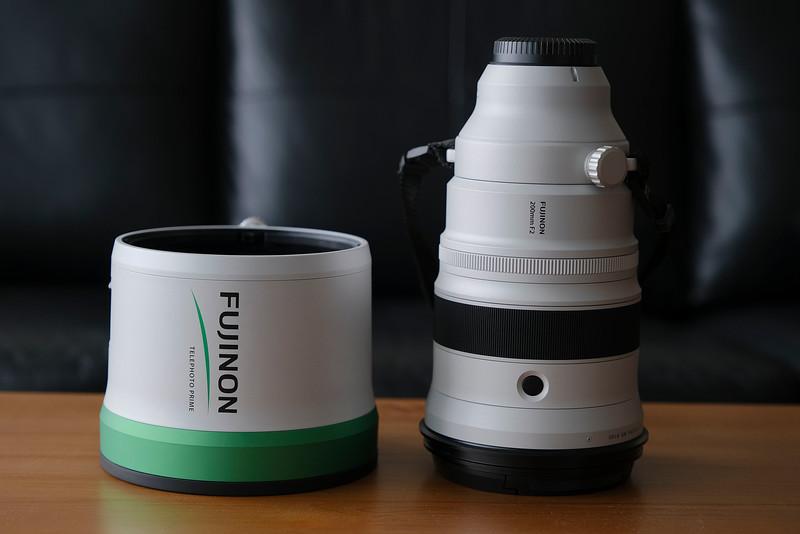 Fujinon XF200mm lens