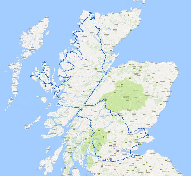 14 jours - 2200 km