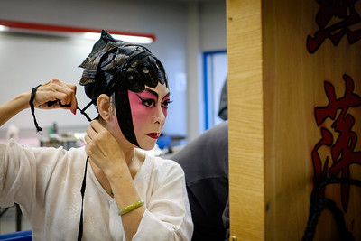 Cantonese Opera actress