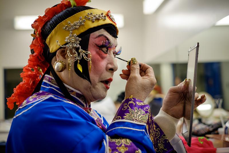 Hoi-Seng Leong, Cantonese Opera actor