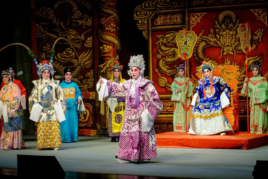 "Cantonese Opera: ""Happy Marriage Achieved"""