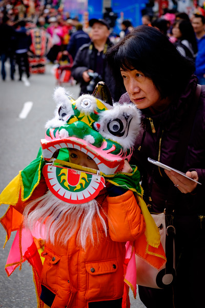 Chinese Lunar New Year parade in Vancouver