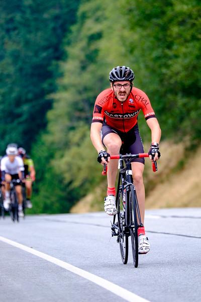Dylan Wiwad - Gastown Cycling - Racing Reds