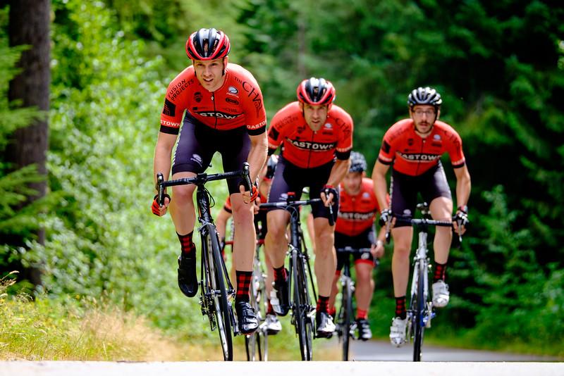 Adam Holcombe - Gastown Cycling - Racing Reds