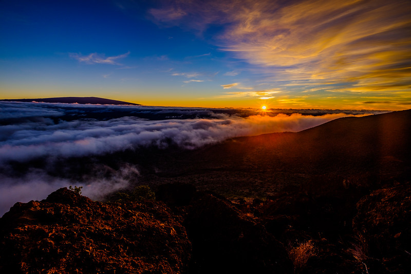 Sunset at Mauna Kea