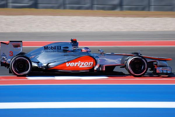 Jenson Button at 2012 USGP