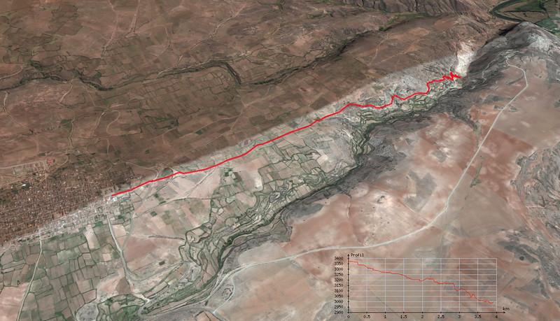 Distance: 4 km, dénivelé: 438 m