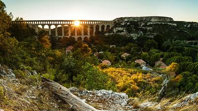 Aqueduc de Roquefavour, Aix en Provence, France