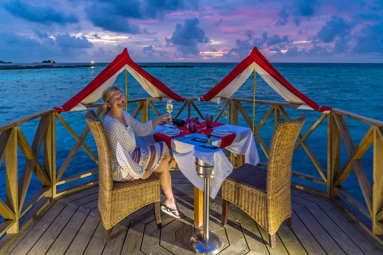 Things to do in the Maldives: Share a romantic Sunset Dinner