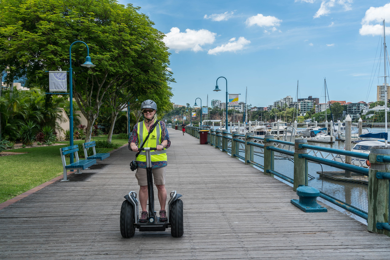 Deb on the River Life Segway Tour