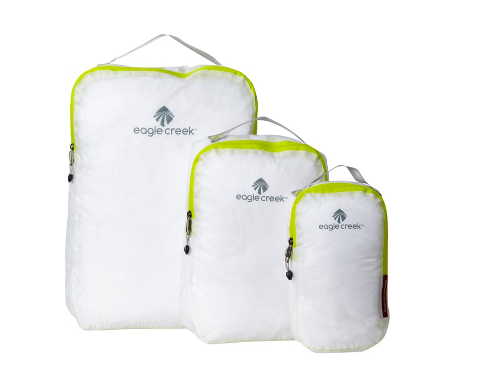 packing cubes white