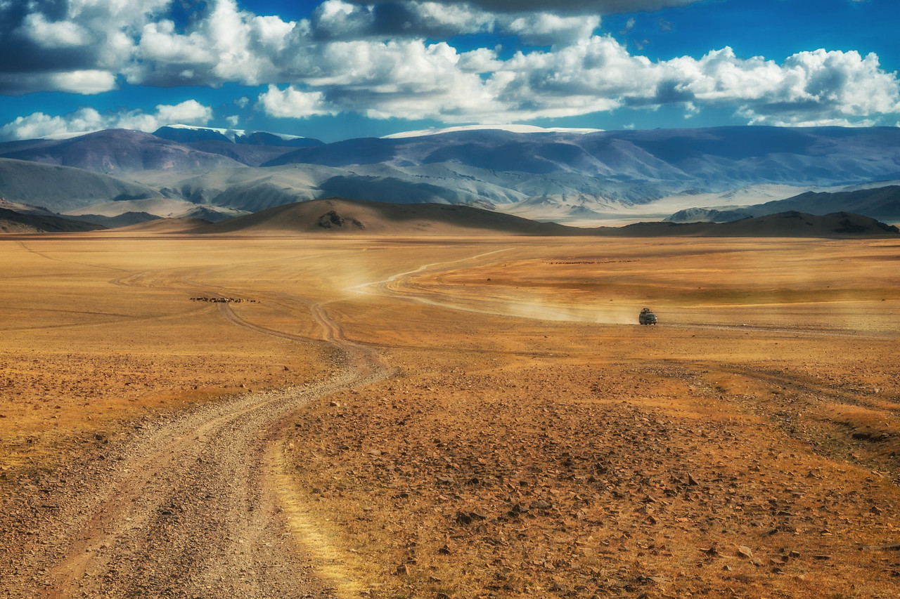 Navigating the Mongolian Steppe