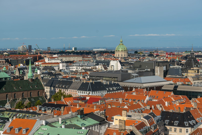 What a view from the top of the Round Tower in Copenhagen