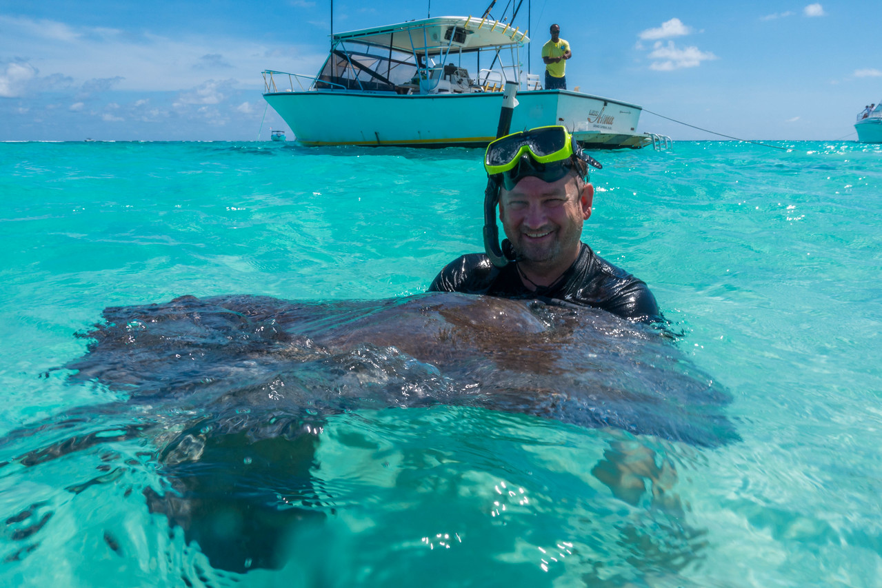 stingray city and dave