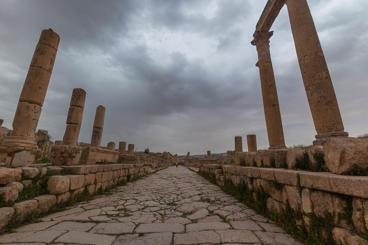 Pillars of Jerash