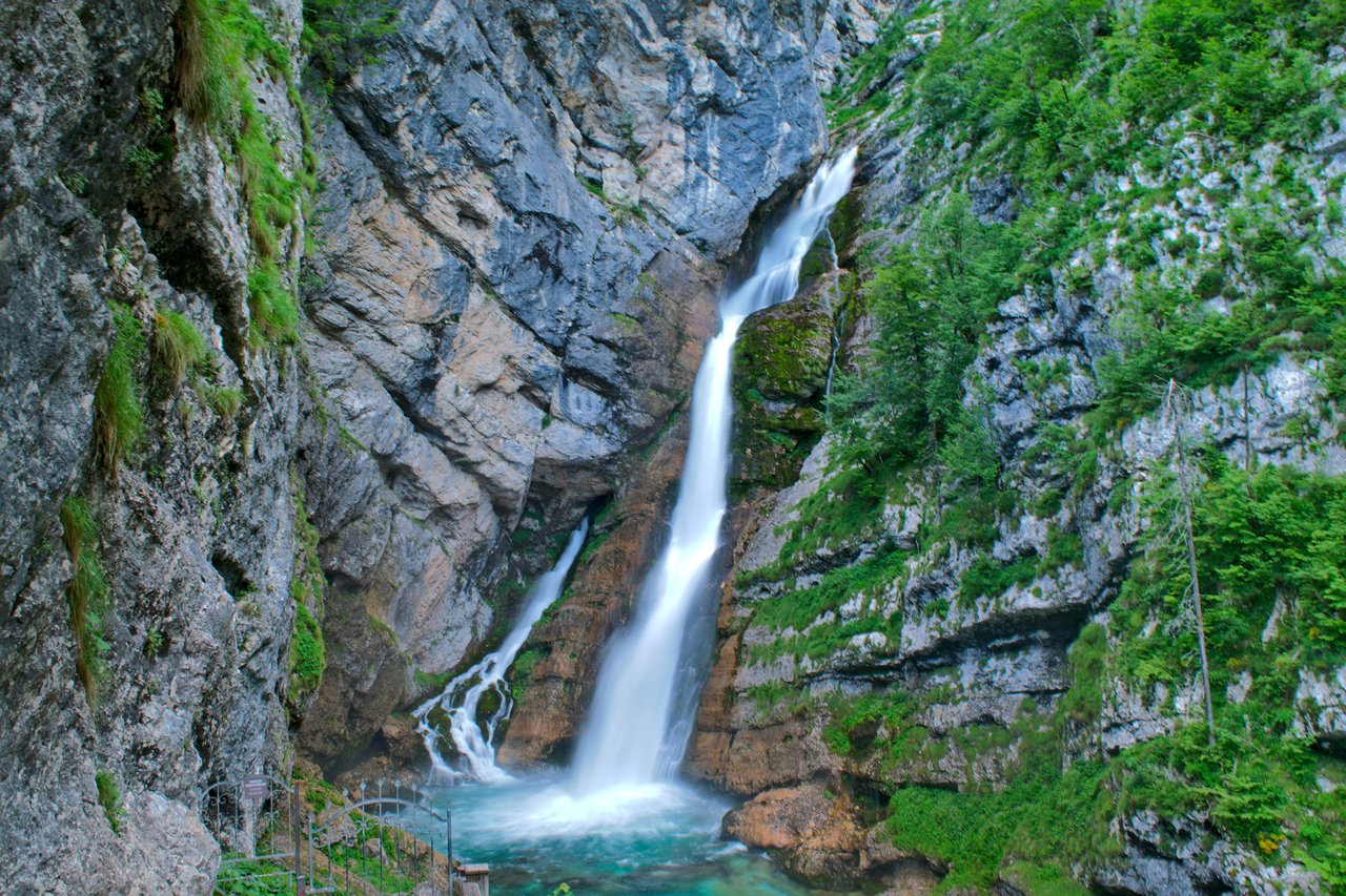 things to do in Slovenia waterfalls