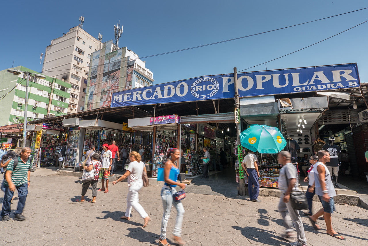 things to do in Rio de Janeiro go to the market