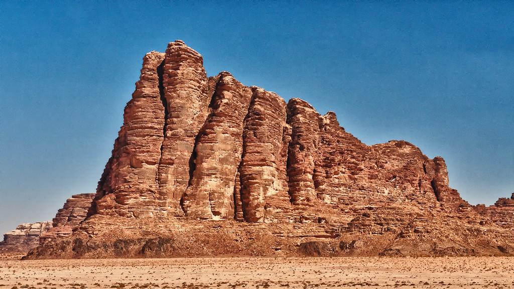 Wadi Rum, the Seven Pillars of Wisdom