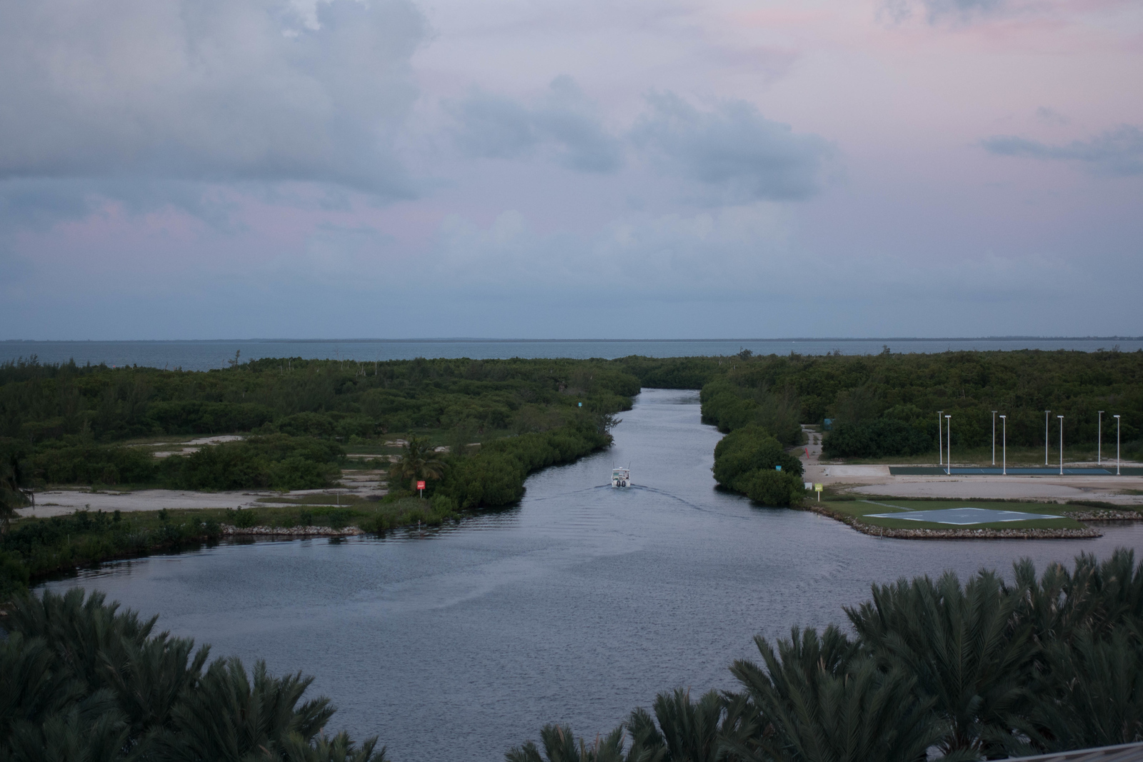 What to do in Cayman Islands: Take in the views from the Lookout Tower in Camana Bay