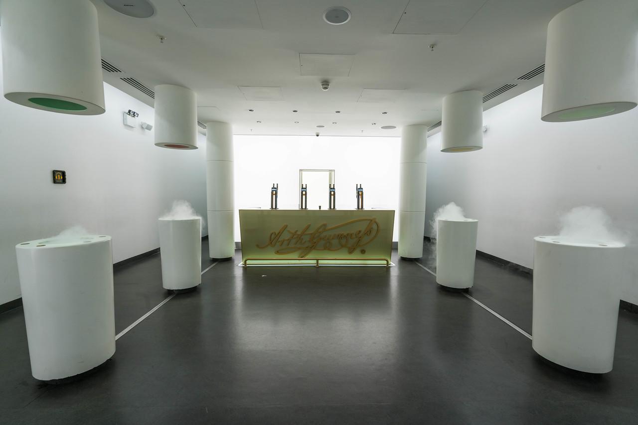 Guinness tasting room