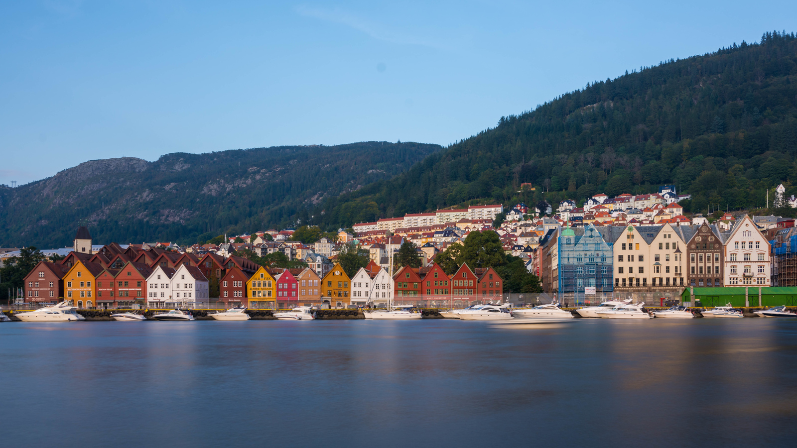 The stunning city of Bergen, Norway