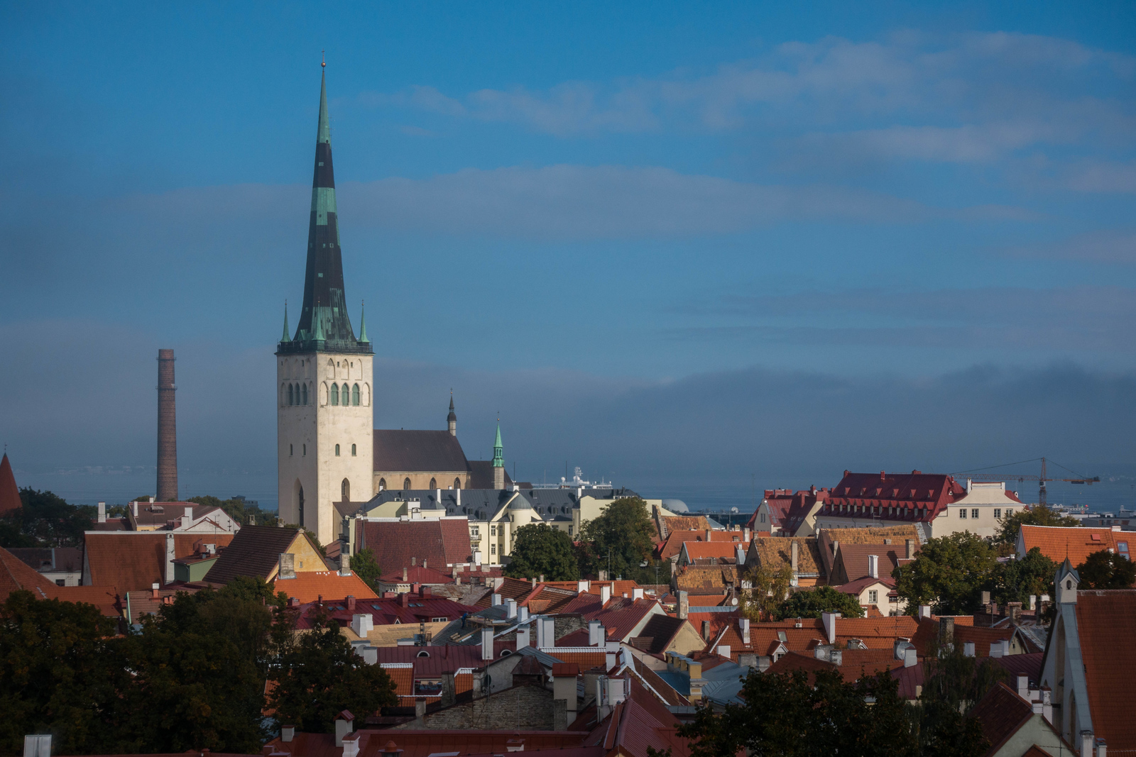 The beauty of Tallinn, Estonia
